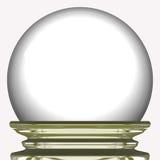 Magician glass ball Stock Photo