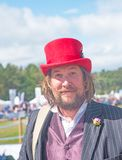 Magician at Grantown-on-Spey Show Royalty Free Stock Images