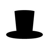 magician hat Royalty Free Stock Image