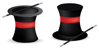 Magician hats Royalty Free Stock Photo