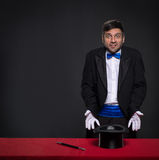 Magician without magic Stock Photography