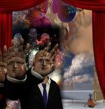 The Magician Stock Photo