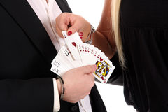 Magician make performance Royalty Free Stock Images