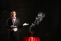 Magician Stock Images
