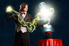 Magician Stock Image