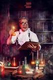 Magician man Stock Photography