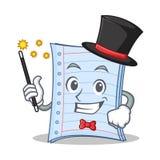Magician notebook character cartoon design Stock Photos