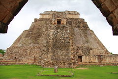 Magician pyramid IV Stock Image