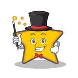 Magician star character cartoon style Stock Photography