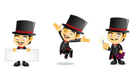 Magician 1. For your business Royalty Free Stock Image