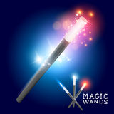 Magicians magic spell vector illustration
