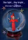Magicien - étoile légère d'étoile lumineuse Image stock