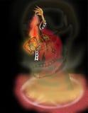 Magicien illustration de vecteur