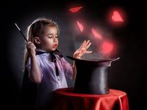 magicien photographie stock