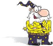 Magicien d'affaires illustration libre de droits