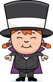Magicien d'enfant illustration libre de droits