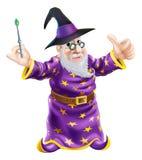 Magicien de bande dessinée Photos stock
