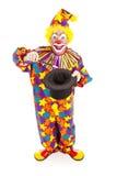 Magicien de clown - plein fuselage Photo stock