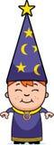Magicien de gosse illustration de vecteur