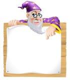 Magicien de signe illustration stock