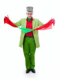 Magicien drôle Photo libre de droits