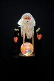 Magicien et bille en cristal Images stock