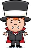 Magicien fâché d'enfant illustration libre de droits