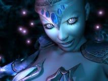 Magicien féminin Photographie stock libre de droits