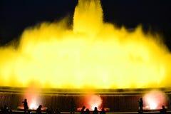 Magiczna fontanna Zdjęcia Stock