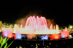 Magiczna fontanna Obraz Royalty Free