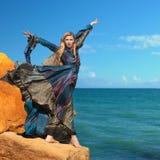 Magiczna kobieta â baśniowy portret Zdjęcia Royalty Free