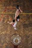 Magiczna koszykówka Obrazy Royalty Free