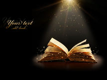 Magiczna książka obraz royalty free