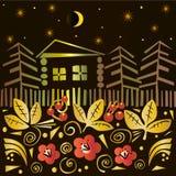 Magiczna lato noc Fotografia Stock