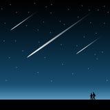 Magiczna noc royalty ilustracja