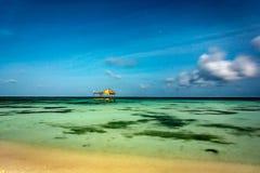 Magiczna Tropikalna Maldives noc zdjęcia stock