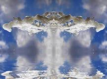 magiczna woda Zdjęcia Royalty Free