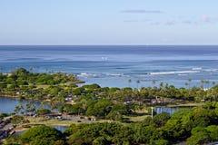 Magiczna wyspy laguna Fotografia Royalty Free