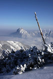 magiczne góry Zdjęcie Stock