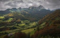 Magiczne Góry Fotografia Royalty Free