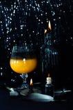 Magicznego napoju miłosnego przygotowanie Halloweenowi napoje Obraz Royalty Free
