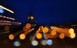 Magiczni światła Zdjęcie Stock