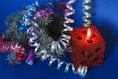 magiczni świeczek boże narodzenia zdjęcie stock