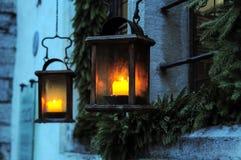 Magiczni lampiony Zdjęcia Royalty Free