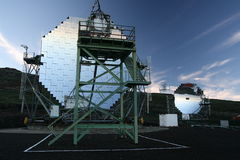 magiczni teleskopy Obraz Royalty Free