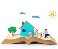 Magiczny świat czytanie ilustracji