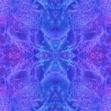 Magiczny akwareli tło bezszwowy wzoru Obrazy Stock