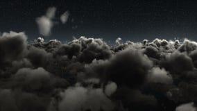 Magiczny błyskotliwość ślad nad niebem zbiory
