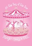 Magiczny Carousel Zdjęcie Royalty Free