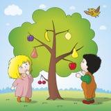 Magiczny drzewo royalty ilustracja